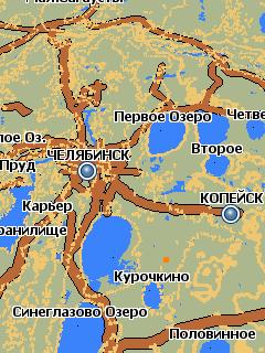 скачать карту озер чел¤бинской области - фото 6