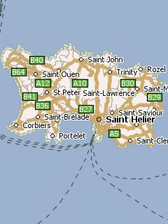 Созданная из данных OpenStreetMap, для программы GPS навигации Навител…