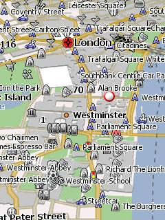 Карта лондона для навител навигатор