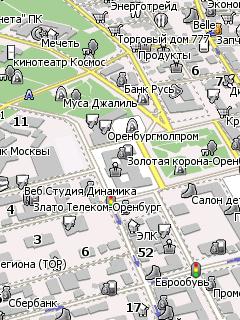 gps карты скачать оренбург: