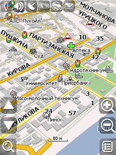 gps карты бобруйска для android