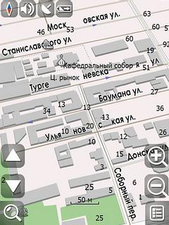 gps карта ростова: