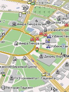 скачать бесплатно навигационные карты узбекистана