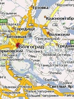Карты Навител Волгоград